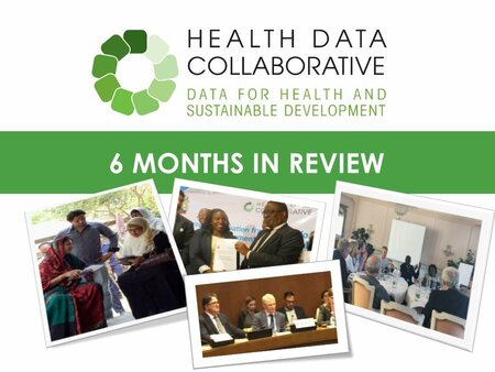 Health Data Collaborative 6 Months in Review