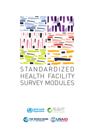 Standardized Health Facility Survey Modules Flyer