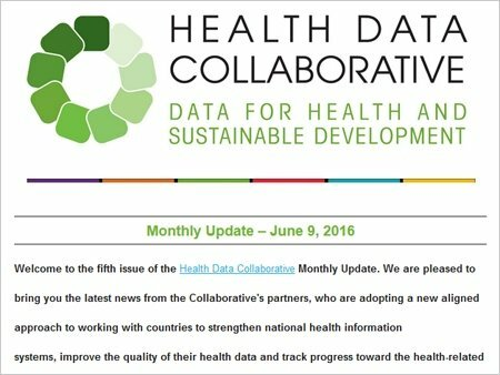 Health Data Collaborative News Update: June 2018