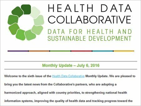 Health Data Collaborative Monthly Update