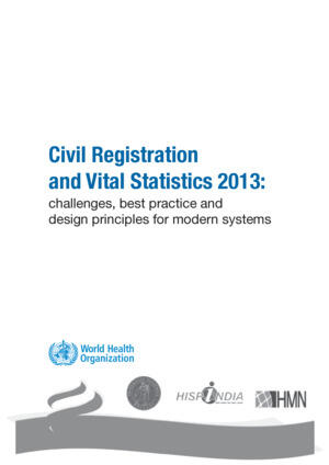 Monitoring of vital events CRVS 2013