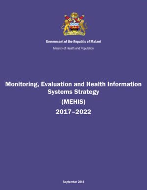 Malawi Monitoring, Evaluation and Health Information Systems Strategy 2017-2022