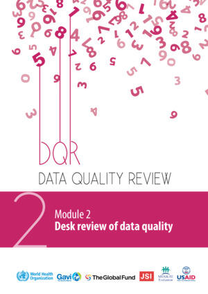 Data Quality Review - Desk review of data quality