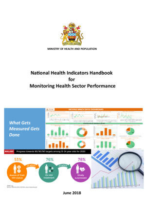 Malawi National Health Indicators Handbook