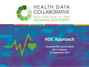 HDC Approach Presentation 11 September 2017
