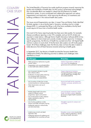 HDC Country Case Study: Tanzania
