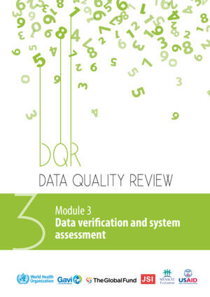 Data Quality Review - Verification and system assessment