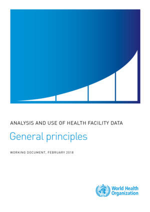Standards for measurement and analysis - general principles